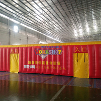 Надувная аварийная эвакуация опыт зал, пожарная эвакуация дрель симулятор комнаты
