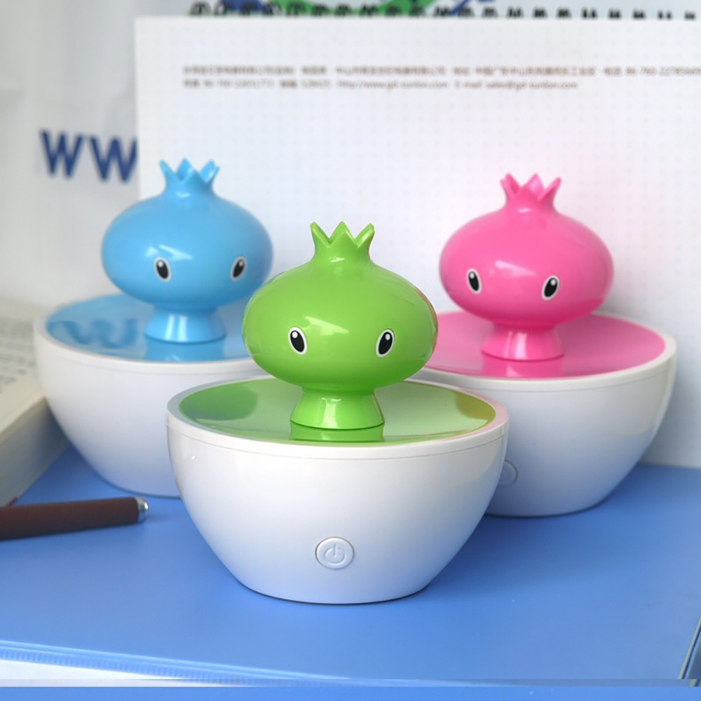 Mini Fruits Shape USB Portable Air Humidifier Ultrasonic Cute Cartoon Essential Oil Aroma Diffuser Home Office Mist Maker Fogger cute mini whale design usb portable air humidifier ultrasonic cartoon essential oil aroma diffuser home office mist maker fogger