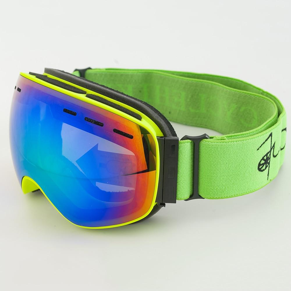 Double Lens Ski Goggles For Kids Boys Girls Anti Fog Skiing Glasses Ski Googles Winter Snow Glasses Skibril Snowboard Goggles