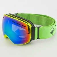 Gafas de esquí de doble lente para niños, niños y niñas, gafas de esquí antivaho, gafas de esquí, gafas de nieve de invierno, gafas de Snowboard skibril