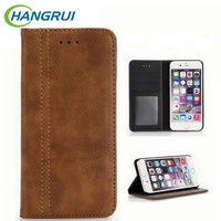 I7 Case Luxury Flip Cover Magnetic Leather Phone Case For Apple IPhone 7 Plus Stand Wallet