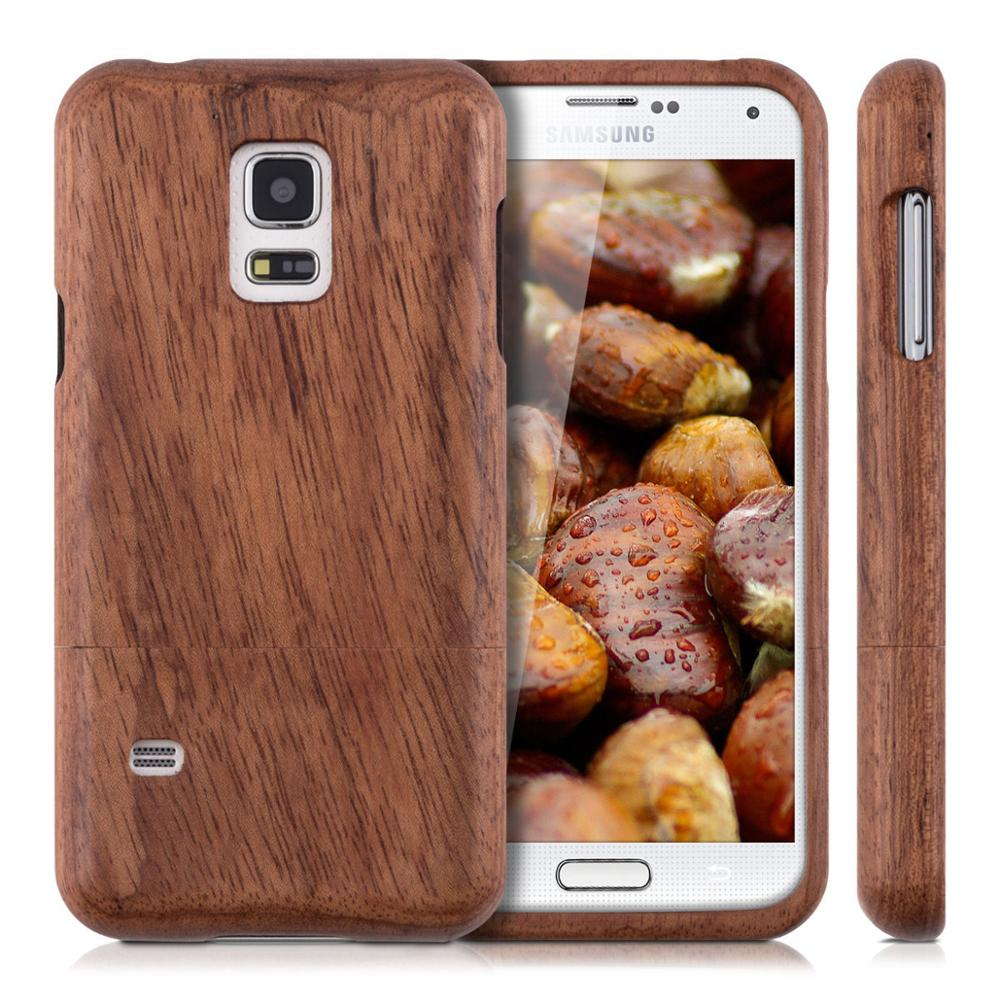 2016 Unique HOLZ HARD Bamboo Wooden Capa Rosewood Cases For SAMSUNG GALAXY S7 S6 Edge PLUS/S7/S4 S5 MINI S5 Neo/S3 MINI / NOTE 7