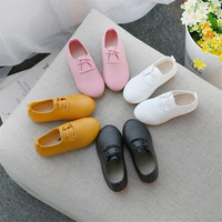 Children Shoes PU Leather Casual Styles Boys Girls Shoes Soft Comfortable Loafers Slip On Kids Shoes 584888