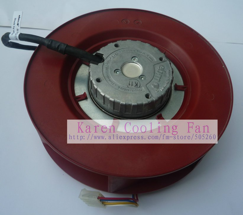 Original PAPST 17.5CM 175*60MM  R1G175-AB41-02 48V 34W Blower Centrifugal Fan papst new ebmpapst fan blower papst 3212j 2n 9238 12v 7 6w