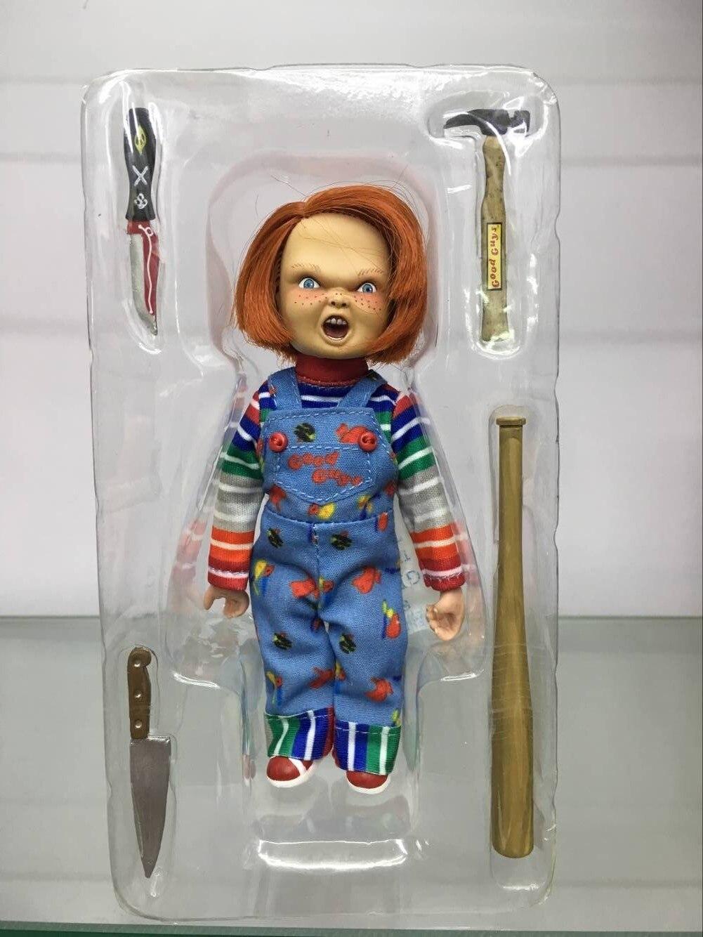 NECA Chucky Figura Good Guy Raccogliere Giocattoli Con La Scatola 16 cm 6