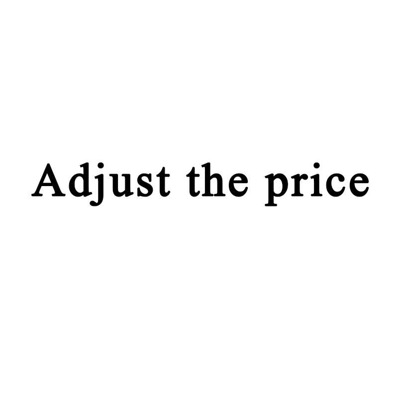 For Adjust the price