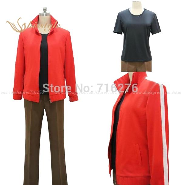 Kis-Style Fashion Kagero Projekt Dodge Projekt KISARAGI SHINTAROU Anime Cosplay Kostým na zakázku