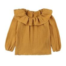 Baby Girl Ruffle Sleeves Blouse Clothing