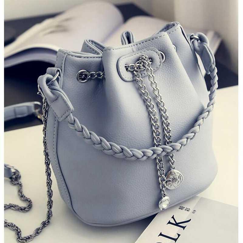 Kadın Çanta PU Deri Kova Çanta omuz çantaları Tasarımcı El Çantaları Için Kadın çantalar ve çanta X520