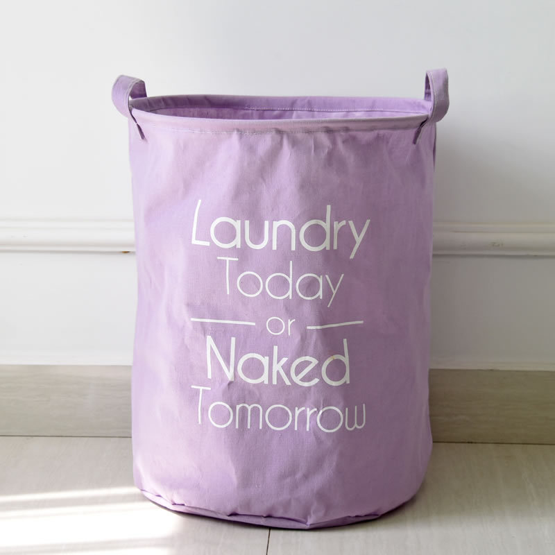Laundry Hamper Fabric Folding Laundry Basket Sundries