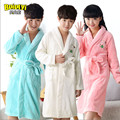 New Promotion Children's Bathrobes Winter Boys Nightgown Super Soft Girls Lengthened Thick Flannel Pajamas Kids Bathrobe