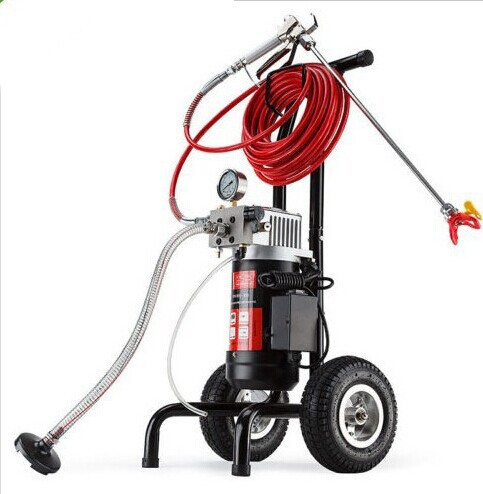 Airless Spray Gun Electric Paint Sprayer Electric M819 A Machine with 50cm extend pole 517 519Nozzle