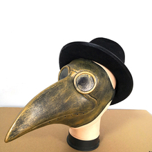 Steampunk Plague Bird Mask Doctor Long Nose Cosplay Fancy Exclusive Gothic Retro Rock Latex Halloween