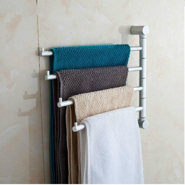 Aliexpress 180 grad dreh aluminium handtuchhalter