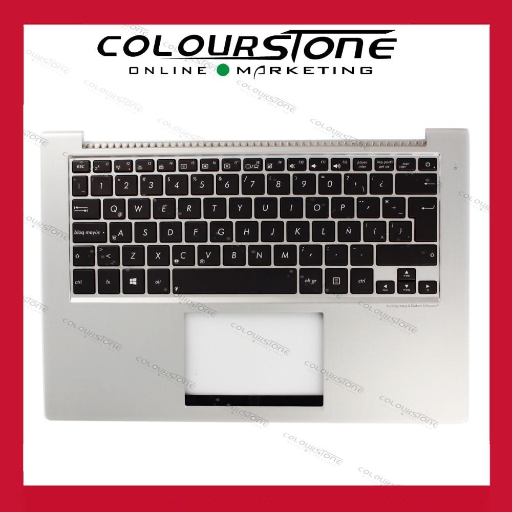 LA Latin Keyboard for ASUS UX32 UX32A UX32E UX32V BX32 UX32VD LA layout With C Cover laptop keyboad Palmrest Cover