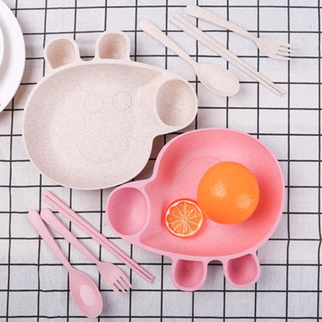 Peppa Pig Kids Bowl + Cutlery Set