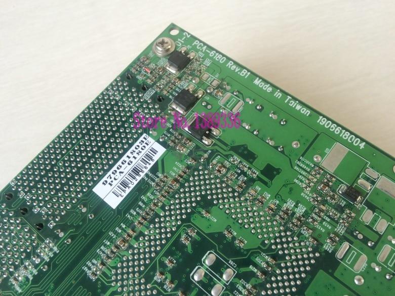 Industrial control board PCA-6180 Rev B1 PCA-6180E with CPU memory fan