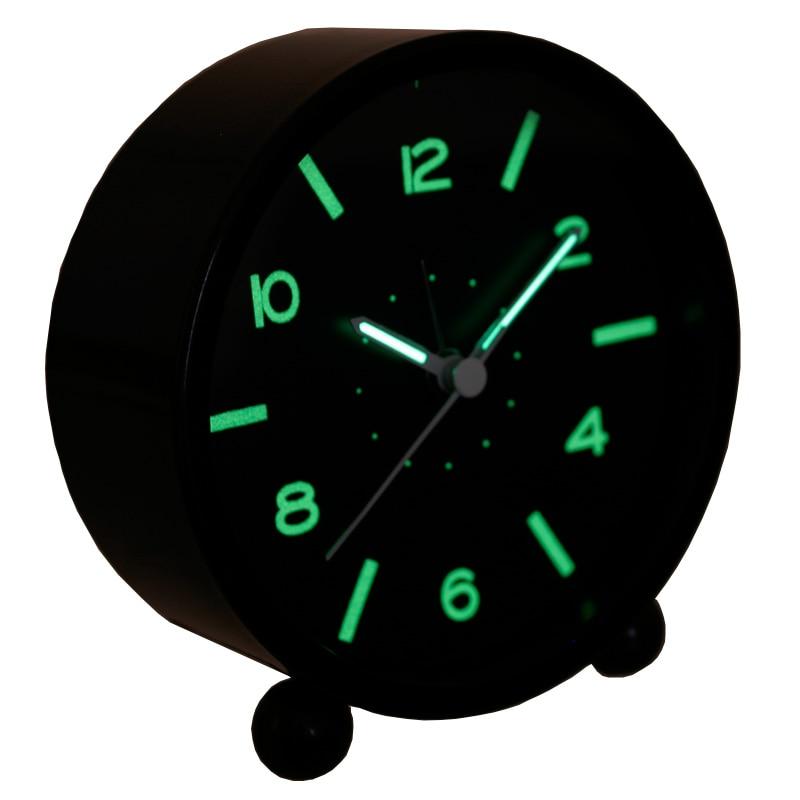 luminous small alarm clock quieten child bedside clock. Black Bedroom Furniture Sets. Home Design Ideas