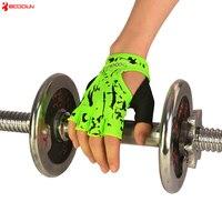 BOODUN Sports Fitness Gloves Gym Weight Lifting Yoga Slip Resistant Summer Half Finger Training Anti slip Swear Absorption Glove