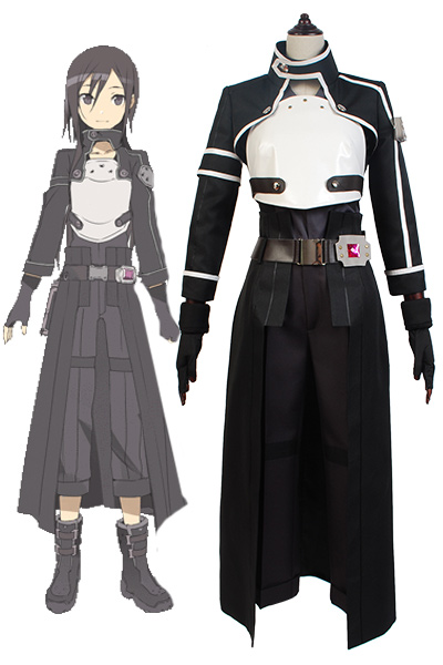 Sword Art Online SAO GGO Gun Gale Online Kazuto Kirigaya Cosplay Full Set Costumes Top Pant Anime Halloween Cosplay Costumes