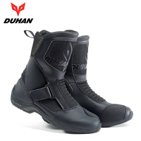 DUHAN Touring Motorcycle Boots Motocross Road Racing Motorbike Shoes Bota Motociclista Moto Motorcycle Riding Boots