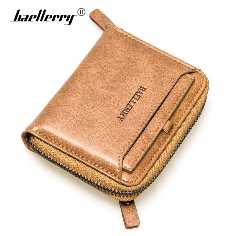 3396be4d93416d6 Baellerry маленький бумажник для мужчин женский держатель карт молнии  кошельки мужской партмоне мужские портмане женские портмоне мужское каш.
