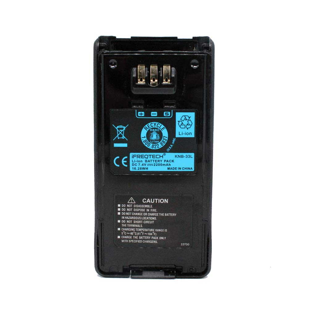 KNB-33L KNB-31A KNB-32N KNB-54N 2200mAh Li-ion Battery For Kenwood Radio TK-2180 TK-3180 TK-3185 TK-5210 TK-5310 TK-5410 NX-410