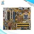 Para asus p5k original usado motherboard desktop para intel p35 atx socket lga 775 para ddr2 8g sata2