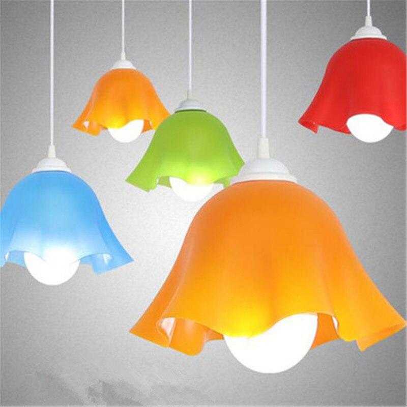 Bunte 220 V Hängen Lampe Esszimmer Wohnzimmer Küche Zimmer Pedant Licht PVC  Einfache Loft Nordic Bar Lampenschirm Kronleuchter Beleuchtung