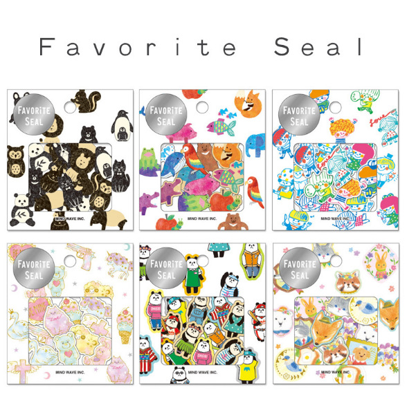 1 Bag 80 PCS 6 Designs Japanese Kawaii DIY Cartoon Animal Stickers Scrapbooking Photo Album DIY Decorative Stickers