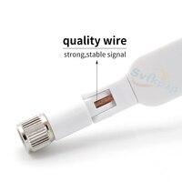 אנטנה עבור 2pcs 3G LTE 4G אנטנות 5dBi SMA זכר 700-2690mhz חיצוניים WIFI Booster אנטנה נתב עבור Huawei B593 E5186 B315 B310 B880 B890 (5)