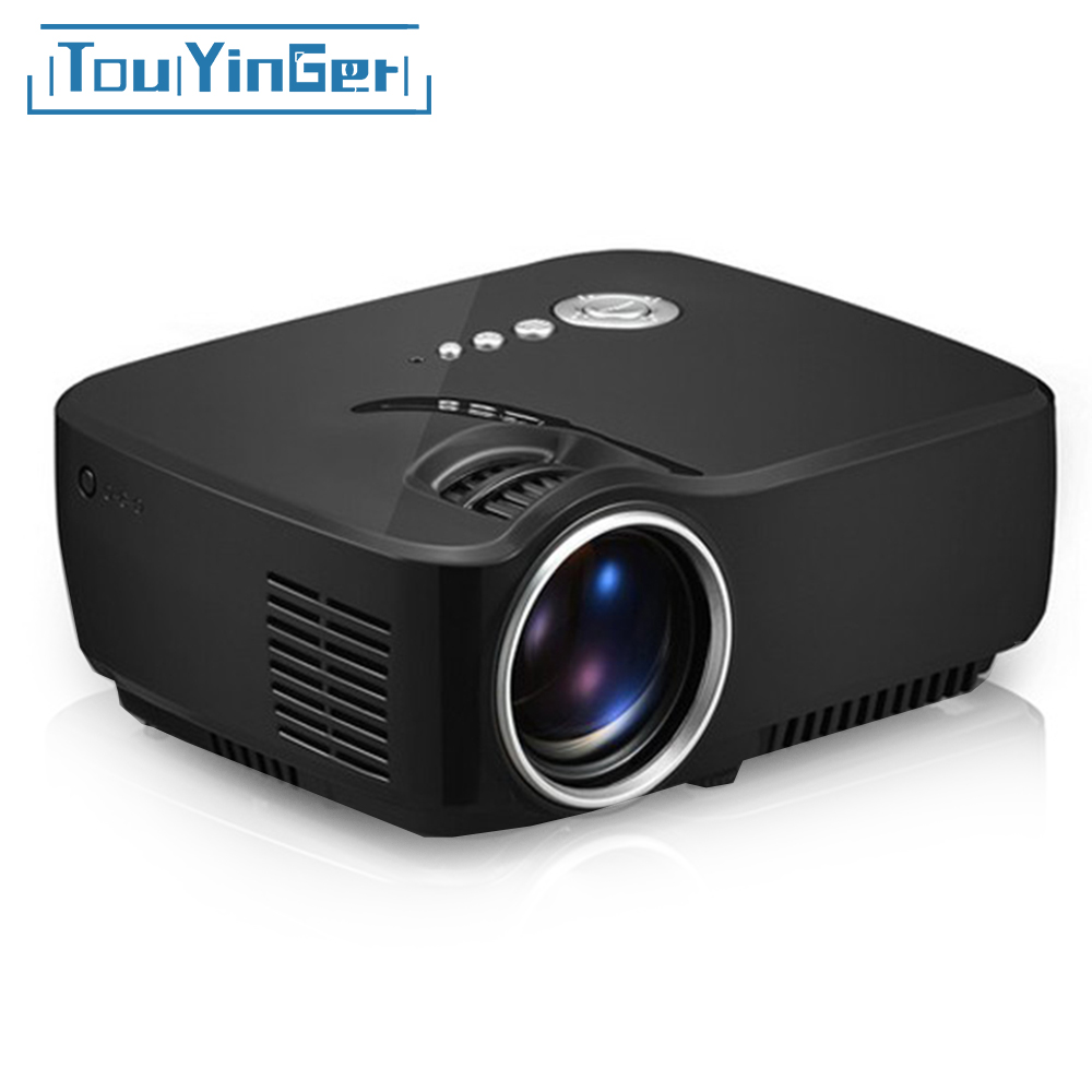 mini portable g90 projector support full hd video home. Black Bedroom Furniture Sets. Home Design Ideas
