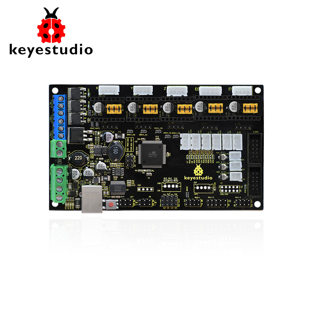 Keyestudio 3D MKS Gen V1.4 Printer Motherboard Control Board for arduino 3D printer Keyestudio 3D MKS Gen V1.4 Printer Motherboard Control Board for arduino 3D printer