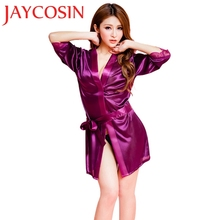 2017 New Bra Women Fashion Classic Bathrobe Pure Role-playing Sexy Lingerie Wild Temptation 1 C7615