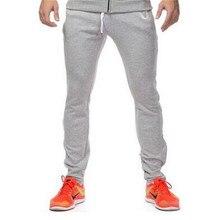 Calças dos homens dos homens revolução estética sportpants academias roupas bordado corredores Sweatpants homens calças cargo plus size
