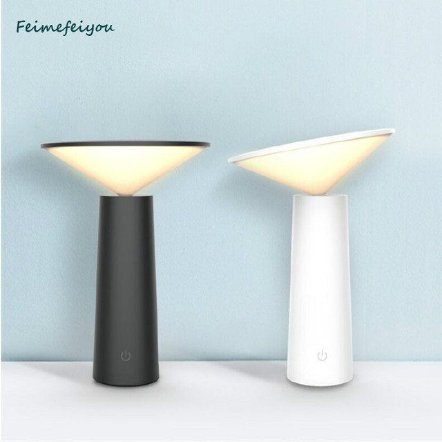 Feimefeiyou lamp modern Touch Switch 3 Modes LED Desk Eye Protection Reading Dimmable USB Table Lamp Night Light