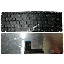 Yeni PO Toshiba Satellite L50 B L55 B L55DT B S50 B S55 B portekizce Laptop klavye siyah