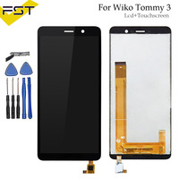 For Wiko Tommy 3 LCD Display and Touch Screen Digitizer Assembly 5.45 Inch For Wiko Tommy 3 Mobile Phone Accessories+Tools