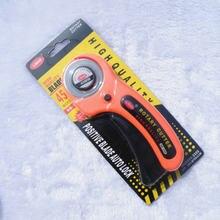 Бесплатная доставка оранжевый роторный резак диаметром 45 мм