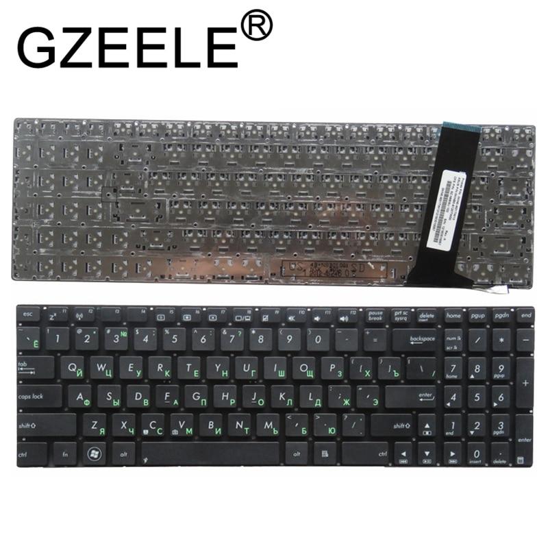 GZEELE Russian RU Keyboard For ASUS N56 N56V N76 N76V N76VB N56DY N76VJ N76VM N76VZ U500VZ N56VV N56VZ U500VZ U500 U500V Black