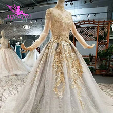 AIJINGYU White Lace Luxury Gownsing Gown Wedding Dresses