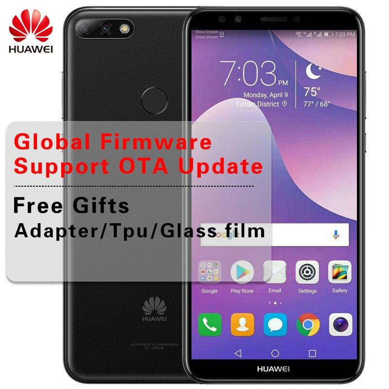 """Global ROM huawei Y7 Prime 2018 Face ID 5,99 """"Android 8,0 смартфон с 3g Оперативная память 32G ROM Восьмиядерный Snapdragon 430 две задних камеры"""