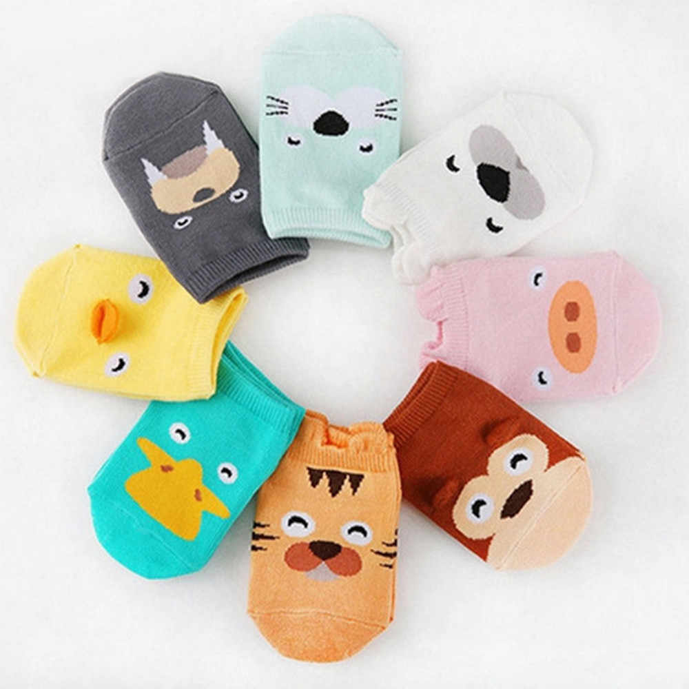 Baby Infant Socks Newborn Cotton Boys Girls Cute Cartoon Toddler Anti-slip Socks warm winter sloth sock for girls sock #K3