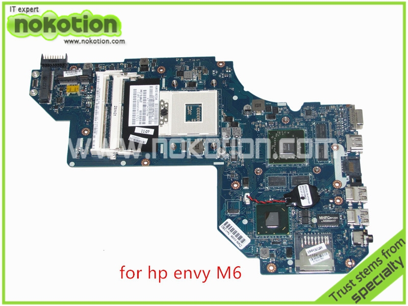 NOKOTION QCL50 LA-8711P 698397-601 For HP Envy M6 Series laptop motherboard ATI HD 7670M 2GB Graphics HM77 DDR3 nokotion laptop motherboard 720565 601 for hp envy 15 15 j 720565 001 main board uma hm87 gma hd ddr3 w8std