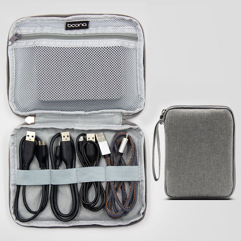Дорожные аксессуары сумка для хранения мобильного жесткий диск преобразования данных кабель гарнитуры USB хранения Упаковка Организаторы О...