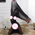 Bondage Gear Adult Fun Sexy Toys Seamless Stockings Thin Sleeping Bag Jumpsuit Stockings Tights Coveralls Socks BDSM Sex Gay