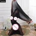 Engrenagem Da sujeição Adultos Divertidos Brinquedos Sensuais Meias Sem Costura Fina Saco de Dormir Macacão Coveralls Meias Calças Justas Meias BDSM Sexo Gay