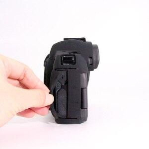 Image 5 - Funda de silicona para Canon EOSR cuerpo Protector de la cubierta de silicona suave cuerpo Protector de goma de cámara caso piel para Canon EOS R
