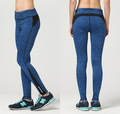 2016 Autumn Women's Leggings Female Sexy High Waist Fitness Clothes Trousers Pants Plus Size 3XL JA6030