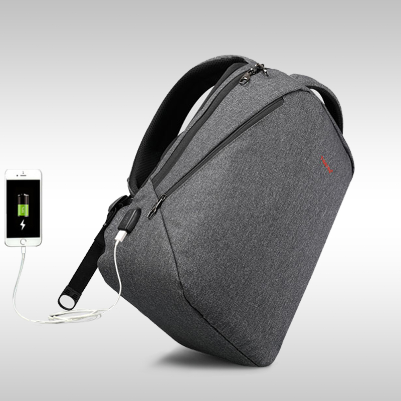 Tigernu brand men backpack anti theft USB charge 14″ 17″ laptop backpack male women school backpack schoolbag back pack bag